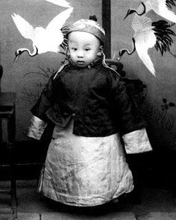 องค์ชายปูยีในวัย 2 ขวบ