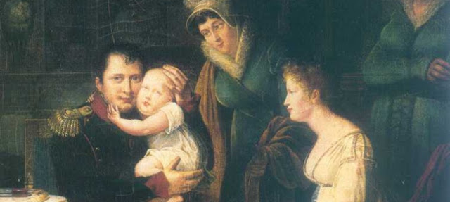 Napoleon, Maria Luisa y su hijo