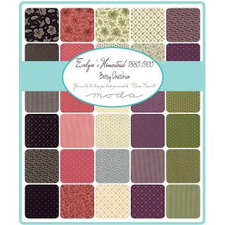 Moda Evelyn's Homestead Fabric by Betsy Chutchian for Moda Fabrics