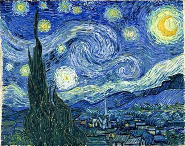 Van Gogh 1 Reproduction Tableaux De Maitre Peints A La Main