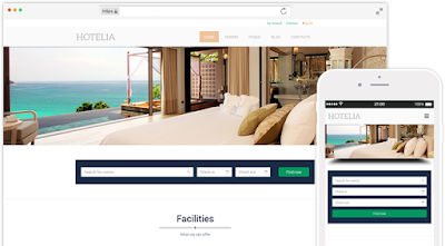 Hotelia-Hotel Wordpress Theme