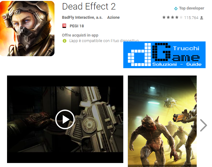 Trucchi Dead Effect 2 Mod Apk Android v161213.1706