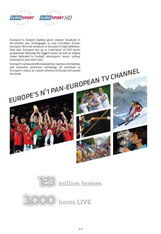 the branding source new logo eurosport. Black Bedroom Furniture Sets. Home Design Ideas