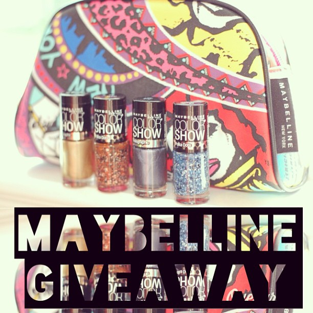 Maybelline free giveaway