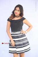 Actress Mi Rathod Pos Black Short Dress at Howrah Bridge Movie Press Meet  0044.JPG