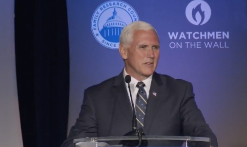 Exclusive Video: Vice President Pence Tells Pastors: 'Share The Gospel!'