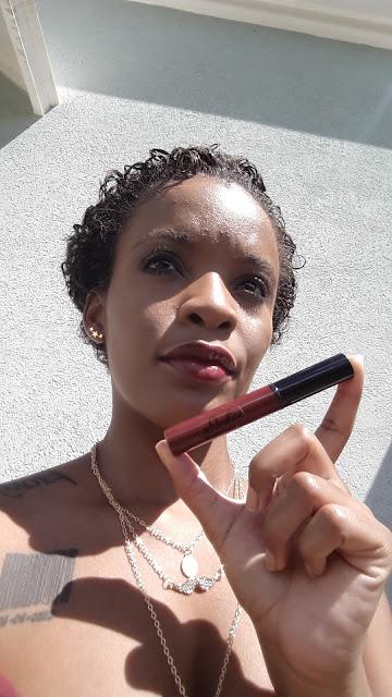 Jolie Cosmetics Lip Gloss 'Stiletto' swatch www.modenmakeup.com
