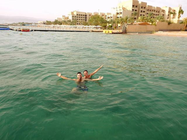 mar rojo jordania