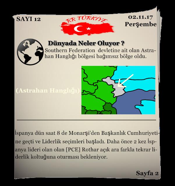 Rival Regions Türkiye 12.sayısı