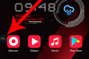 Oppo F3 Remove Homescreen Acceleration Ball