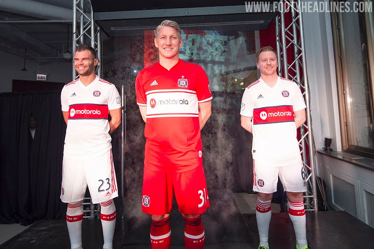 Chicago Fire 2019 Kits Released | New Sponsor Motorola