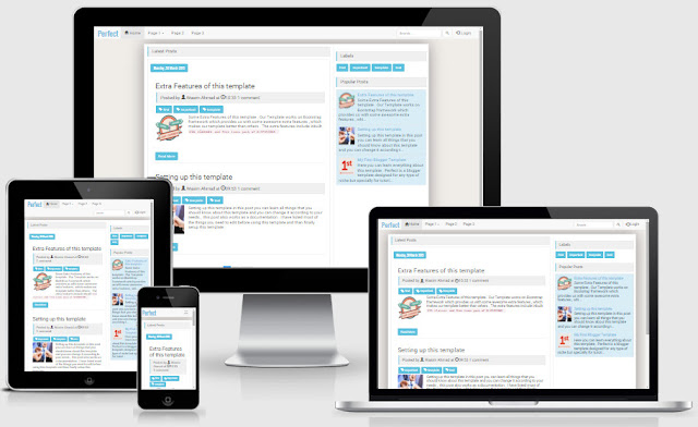 Perfect Responsive Blogger Templates