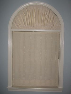 I Ll Try Any Pin Once Covering An Arch Window