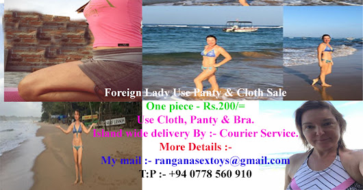 Foreign Lady Use Panty & Cloth Sale