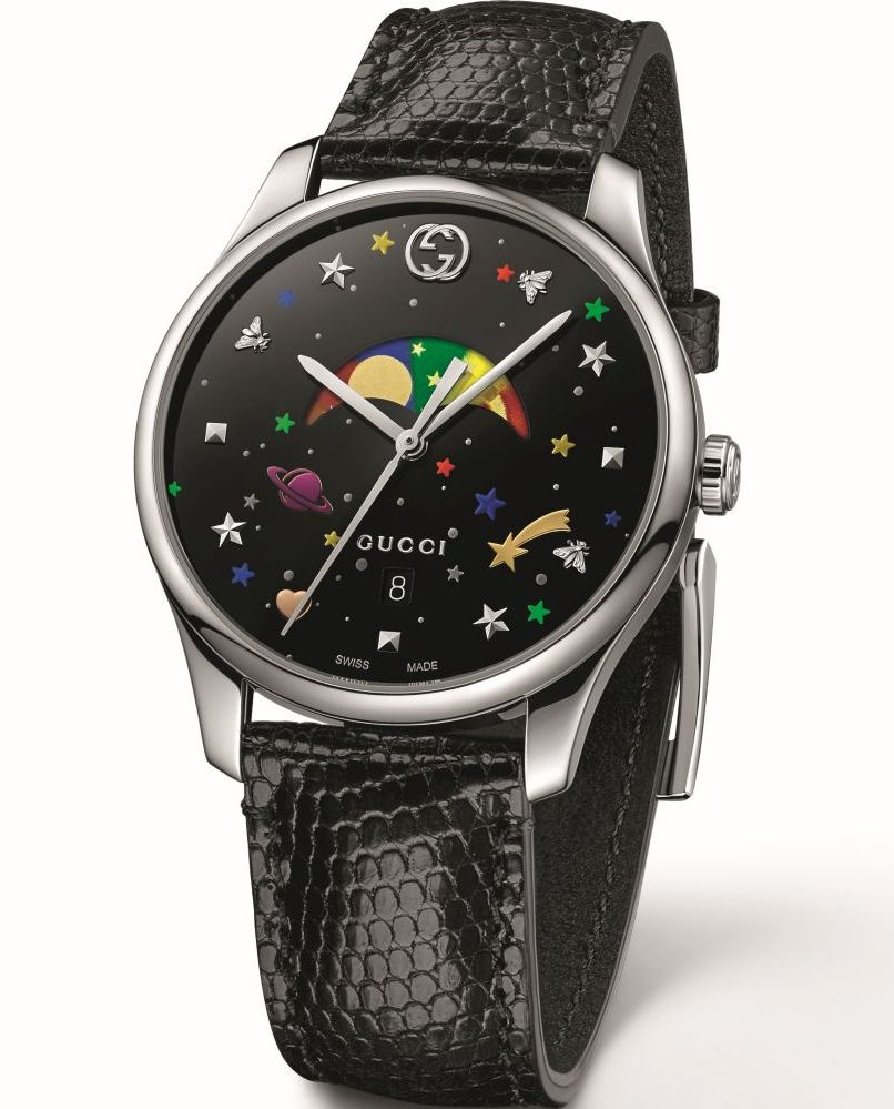 e2a45a728f3 Another striking and special new design is the Quartz Moonphase variant