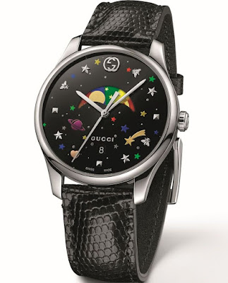 Gucci New G-Timeless moon phase watch