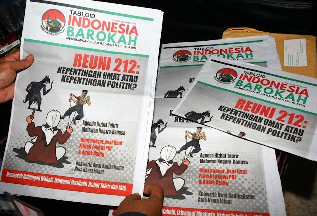 Bawaslu Minta Polisi Usut Dugaan Pidana Tabloid Indonesia Barokah
