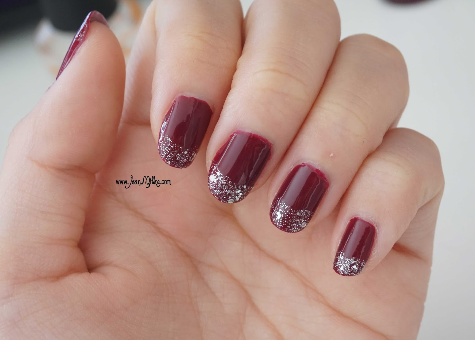 etude house play nail art glamour wine