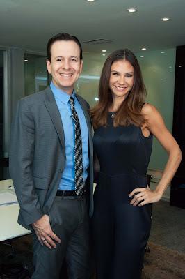 Celso Zucatelli e Amanda Klein - Crédito/Foto: Fernanda Simão/Divulgação RedeTV!