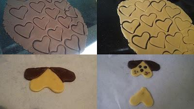 köpek şeklinde kurabiye