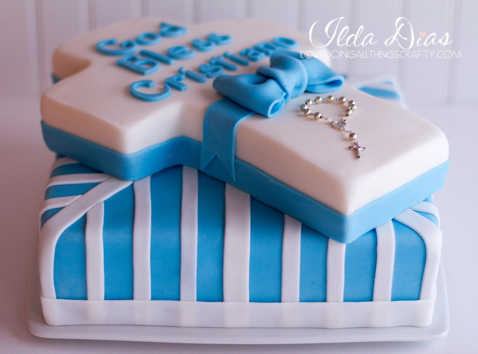 Cristiano's Baptism Cake | DIY Cakes