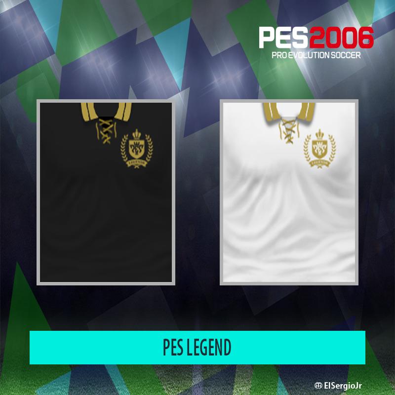 PES 6 Kits PES Legends by El SergioJr - PES 6 Update | Free