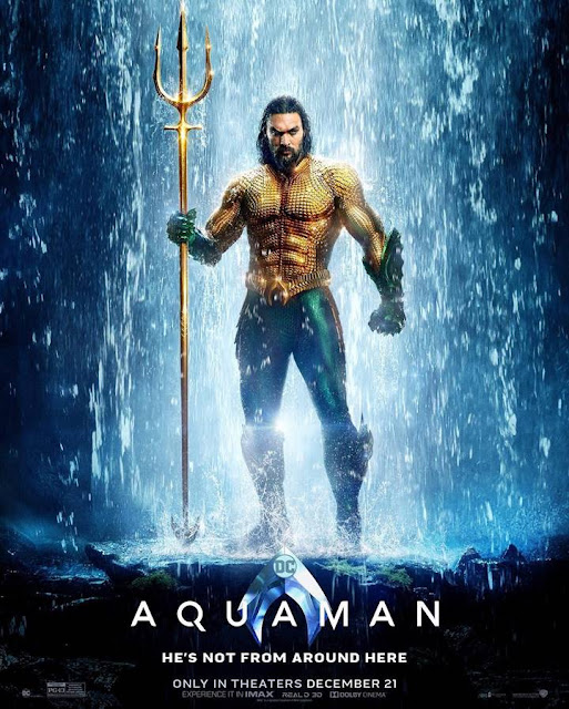 Official poster terbaru film Aquaman