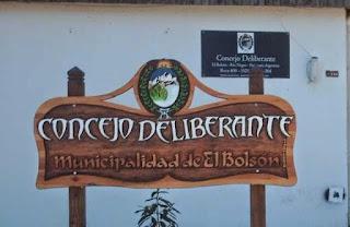 Resultado de imagen para Concejo Deliberante de El Bolsón