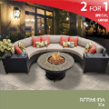 Bermuda 6 Piece Outdoor Wicker Patio Furniture Set 06a, Outdoor Spaces. Outdoor Furniture, Outdoor Living, Outdoor sofa Sets, Outdoor Sectional Sets,
