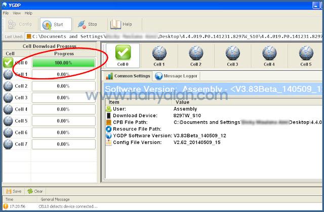 Melakukan Flash Stock ROM Himax Polymer Octa Sampai Sukses