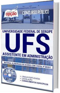 Apostila Concurso UFS 2017 Assistente em Administração