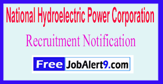 NHPC National Hydroelectric Power Corporation Recruitment Notification 2017  Last Date 31-05-2017