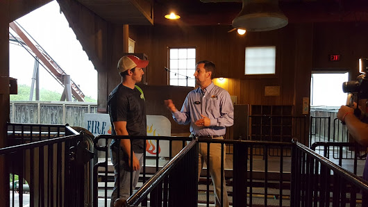 Silver Dollar City Attraction Supervisor spoke with us about ride attractions at the park