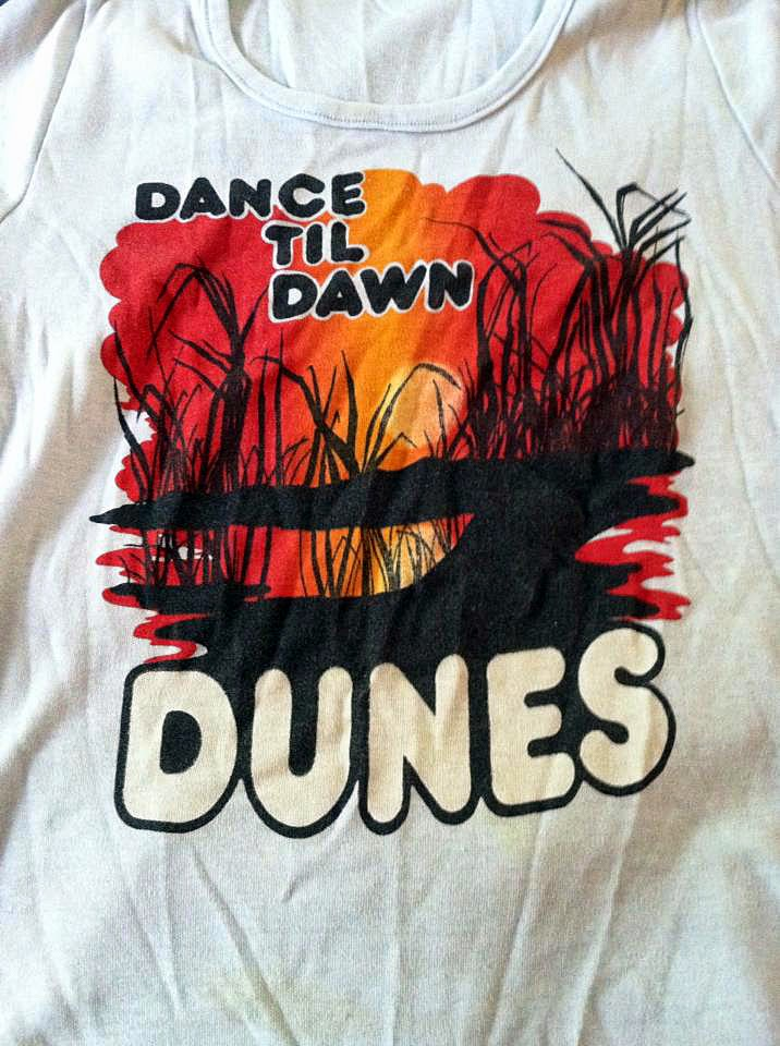 The Dunes t-shirt