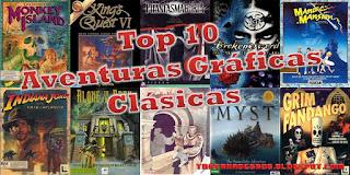Top 10 Aventuras Gráficas Clásicas - La Taberna de Grog