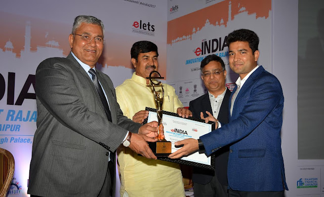Ajmer, Rajasthan, Ajmer Collector, Gaurav Goyal, Mobile Librery, Award, Vasundhara Raje, Happiness Index