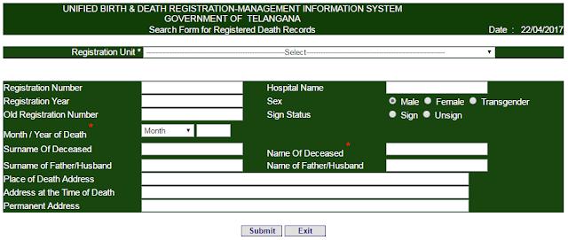 UBDMIS Death Certificate