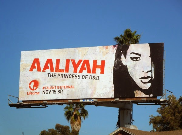 Aaliyah Princess of R&B Lifetime movie billboard