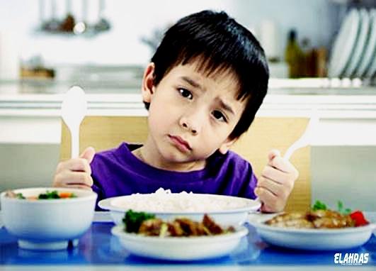 علاج فتح الشهية عند الاطفال
