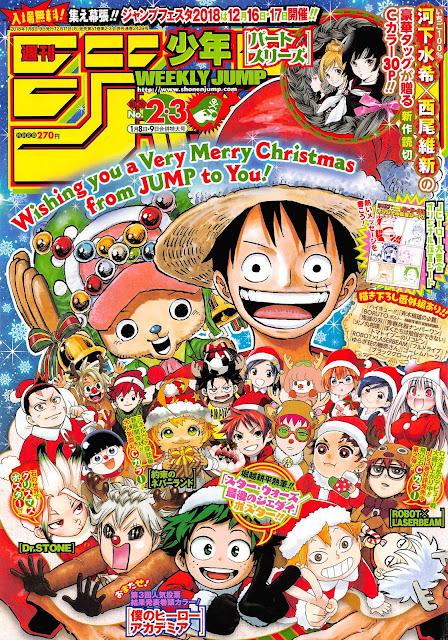 Weekly Shonen Jump edición combinada segunda y tercera del 2018