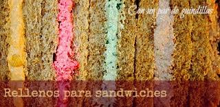 Relleno para sandwiches