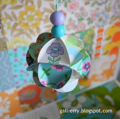 pastell lila färgbomb