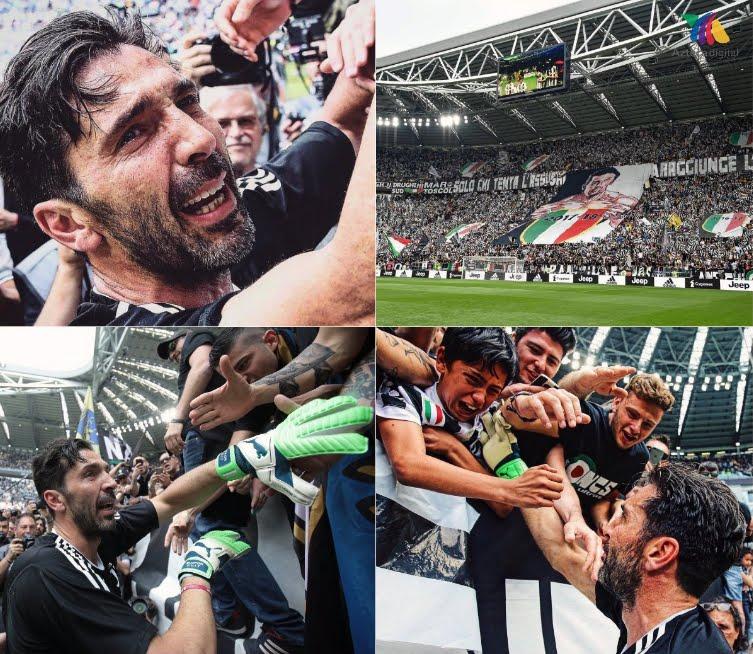 Juventus Verona 2-1: Festa Scudetto con gol e tante emozioni per Buffon