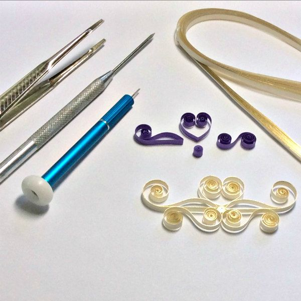 quilling tools and supplies