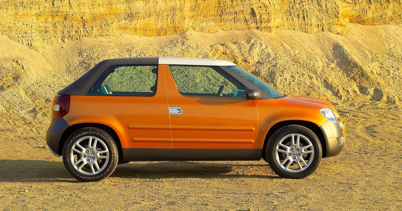 Skoda Yeti Roadster show car