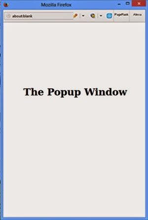 Скрипт попап окна