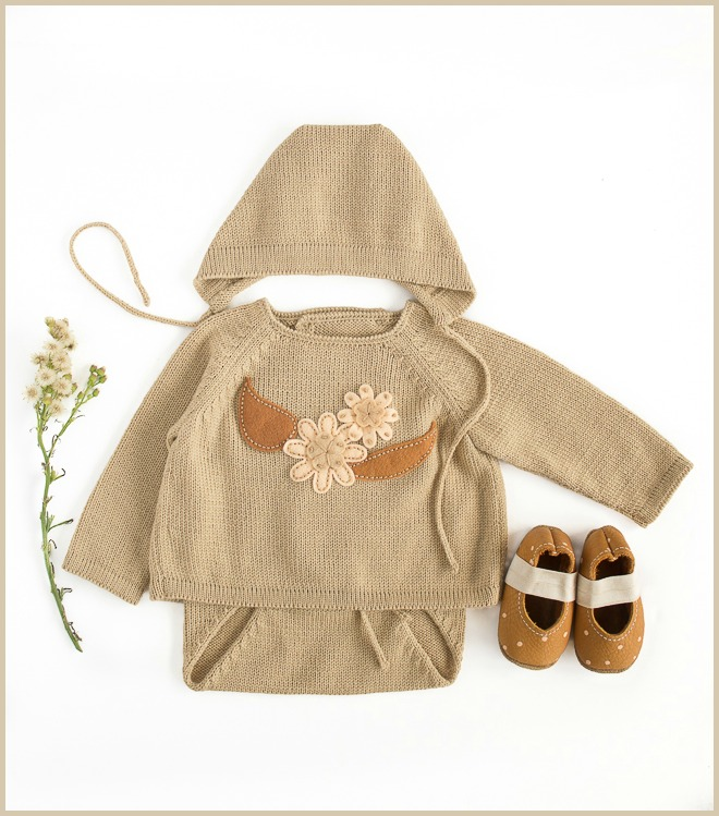 NEW! Baby knits in soft autumn colors
