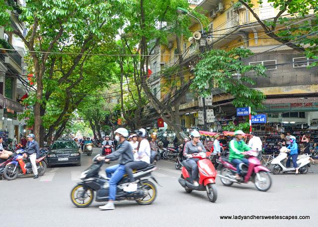 Hanoi Old Quarter street
