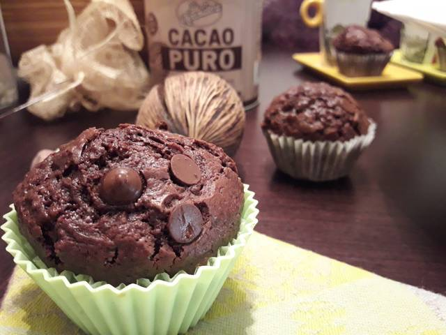 chocolate-muffins, muffins-de-chocolate-y-cafe