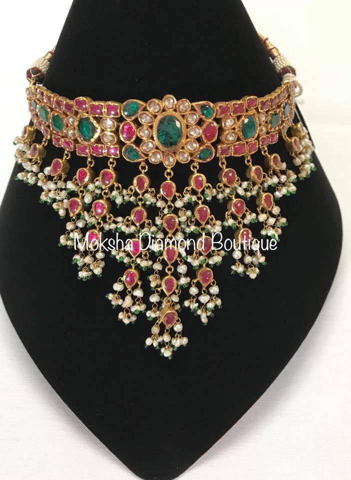 Ruby Choker by Moksha Diamonds